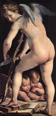 PARMIGIANINO Cupid