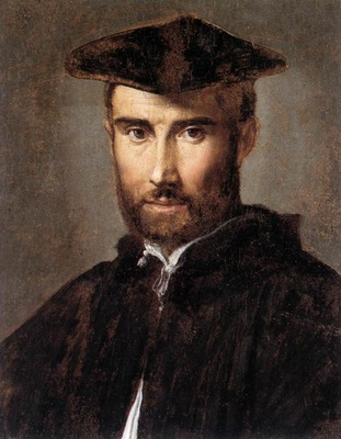 parmigianino portrait of a man 1528