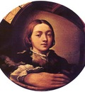 PARMIGIANINO Self Portrait In A Convex Mirror