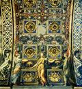 Parmigianino Wise Virgins Allegorical Figures And Plants