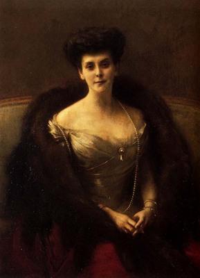 Dagnan Bouveret Pascal Adolphe Jean Portrait Of Princess O V Paley