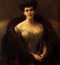 Dagnan Bouveret Pascal Adolphe Jean Portrait Of Princess O V Paley