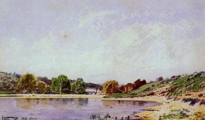 Guigou Paul Camille A Bend in the Durance River