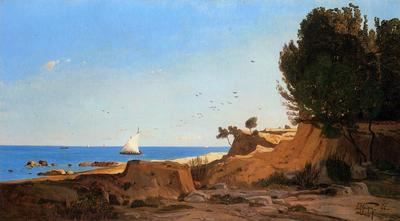 Guigou Paul Camille Around the Cap Couronne near Marseille