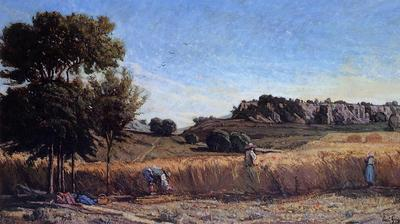 Guigou Paul Camille Field of Wheat