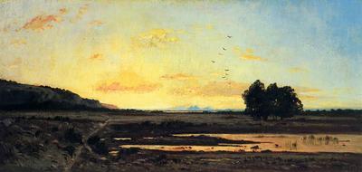 Guigou Paul Camille Rememberance of la Caru Sunset