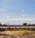 Guigou Paul Camille Landscape the Banks of the Durance