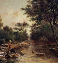 Guigou Paul Camille On the Banks of the River