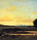 Guigou Paul Camille Rememberance of la Caru Sunset