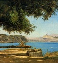 Guigou Paul Camille Tamaris by the Sea at Saint Andre near Marseille