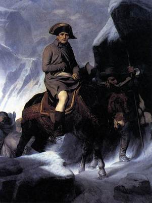 DELAROCHE Paul Bonaparte Crossing the Alps