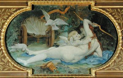 Baudry Paul Venus Jouant avec L Amour