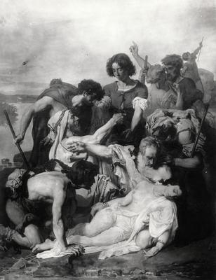 Zenobie retrouvee par les bergers sur les bords