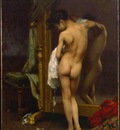 Peel Paul A Venetian Bather