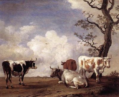 POTTER Paulus Four Bulls