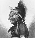 Svinin Pavel Petrovich An Osage Warrior