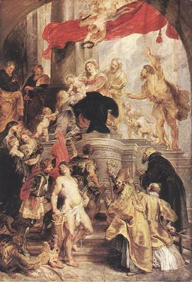 Rubens Bethrotal of St Catherine sketch