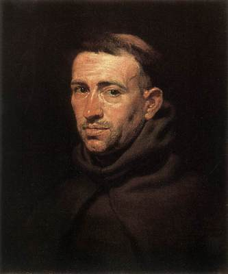 Rubens Head of a Franciscan Friar