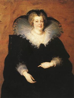 Rubens Marie de Medici Queen of France