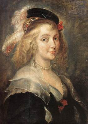 Rubens Portrait of Helena Fourment