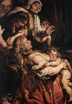 Rubens Raising of the Cross detail2