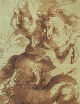 Rubens St  George Slaying the Dragon Pen