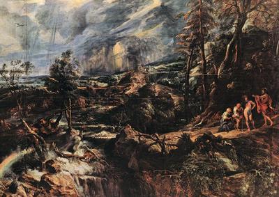 Rubens Stormy Landscape