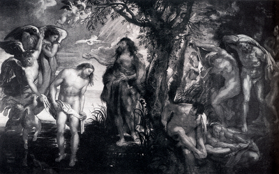 Rubens The Baptism Of Christ