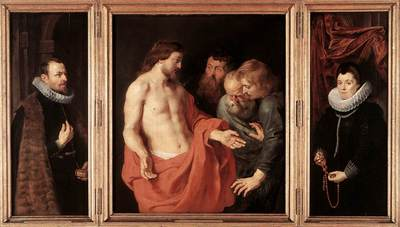 Rubens The Incredulity of St Thomas