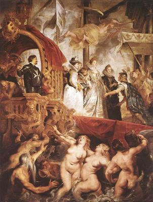 The Landing of Marie de Medici at Marseilles WGA