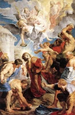 The Martyrdom of St Stephen WGA