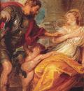Rubens Mars and Rhea Silvia detail