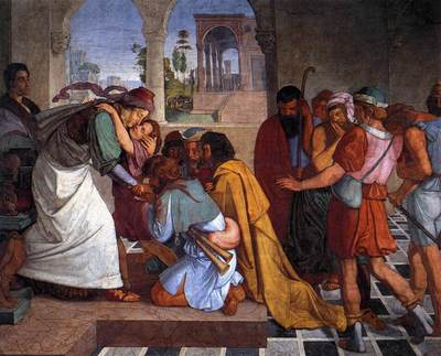 CORNELIUS Peter The Recognition Of Joseph By His Brothers