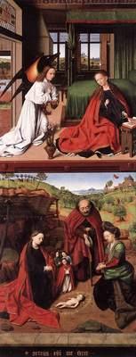 CHRISTUS Petrus Annunciation And Nativity