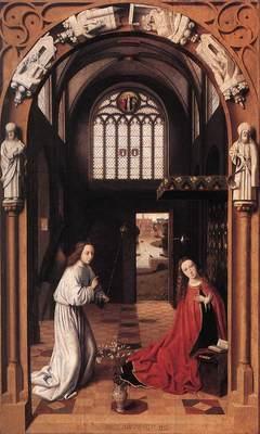 CHRISTUS Petrus Annunciation
