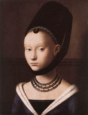 CHRISTUS Petrus Portrait Of A Young Girl