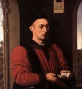 CHRISTUS Petrus Portrait Of A Young Man