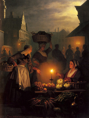 Schendel Petrus Van The Night Market