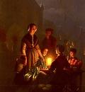 Schendel Petrus van The Evening Market