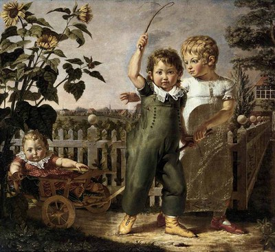 RUNGE Philipp Otto The Hulsenbeck Children