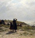 Sadee Philip Lodewijk Jacob Frederik The Return Of The Fishing Fleet Katwijk