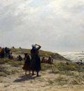 Sadee Philip Lodewijk Jacob Frederik The Return Of The Fishing Fleet Katwijk