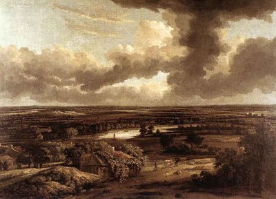 KONINCK Philips Dutch Landscape Viewed From The Dunes