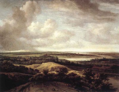 KONINCK Philips Panorama View Of Dunes And A River