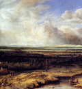 Koninck Philips An Extensive Landscape With A Hawking Party