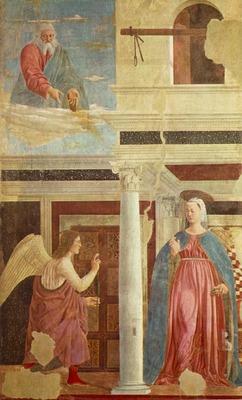 PIERO della FRANCESCA Annunciation