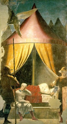 PIERO della FRANCESCA Constantines Dream