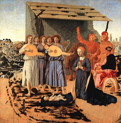 PIERO della FRANCESCA Nativity