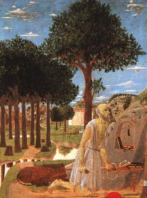 PIERO della FRANCESCA The Penance Of St Jerome