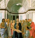 PIERO della FRANCESCA Madonna And Child With Saints
